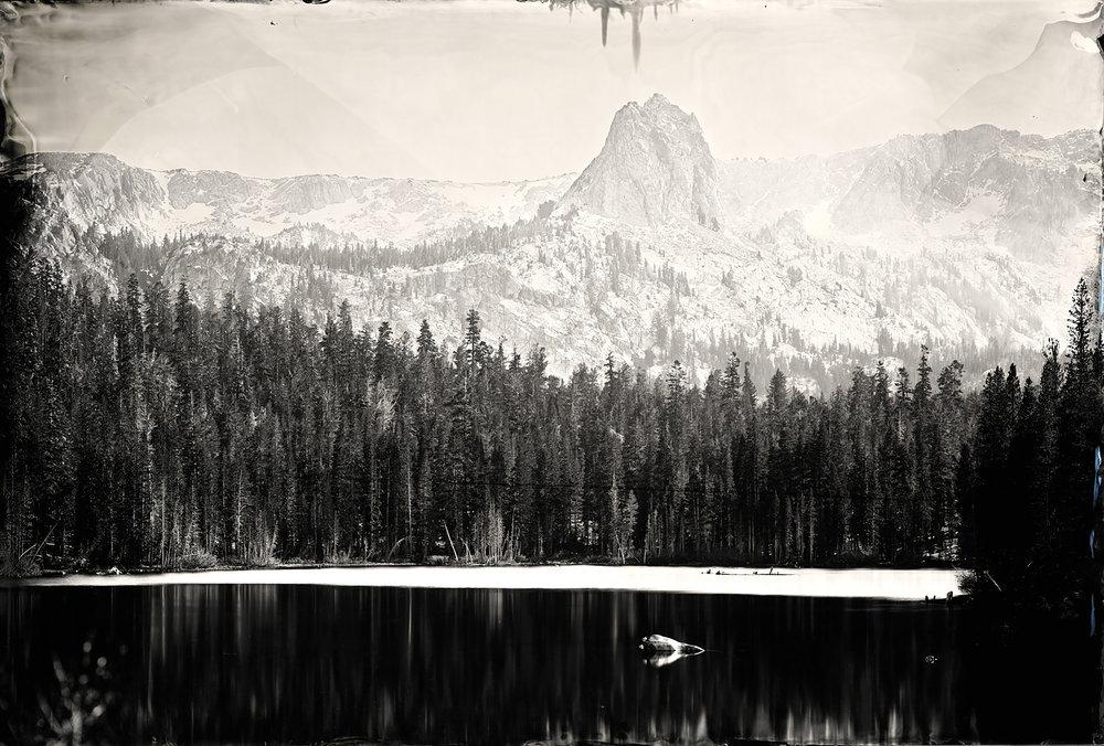 """Lake Marry"" - 24""x35"" Tintype - 2011"