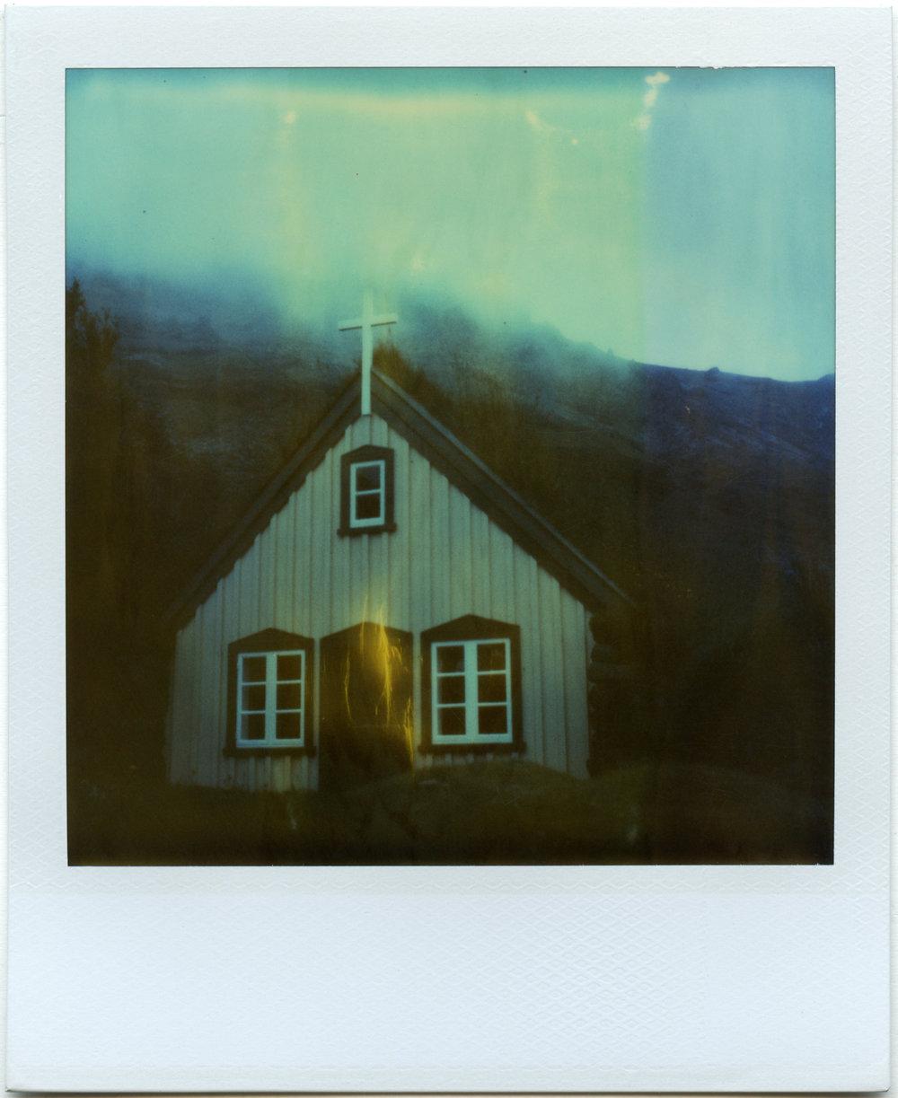 """""""Solitude"""" - Expired Polaroid Time Zero Film - 2018"""