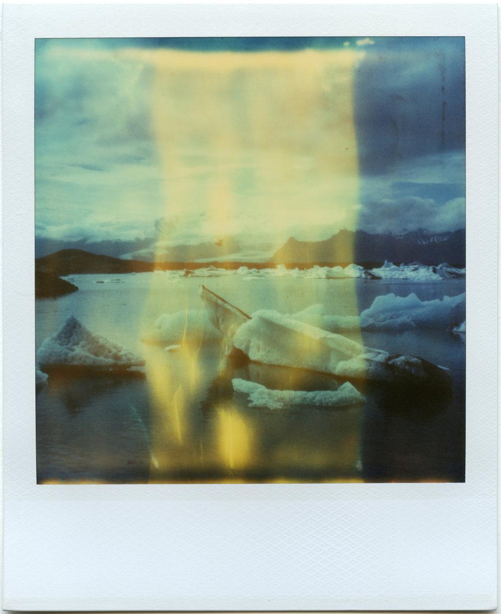 """""""The Glassmaker"""" - Expired Polaroid Time Zero Film - 2018"""