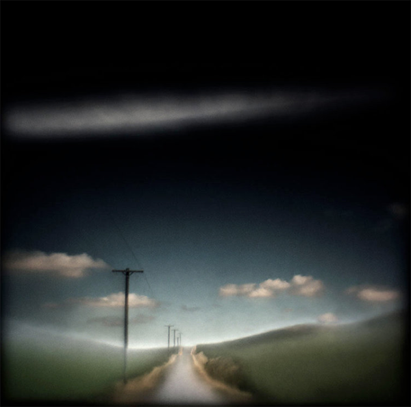 Across Old Albion Road , Hand varnished archival pigment print, ©Susan Burnstine