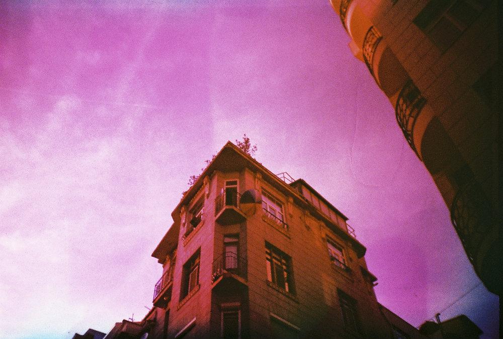 """Purple Sky"" by Öykü Devrim Doğru"