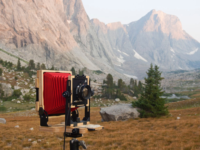 Intrepid's 4x5 MKIII Camera in the Field!