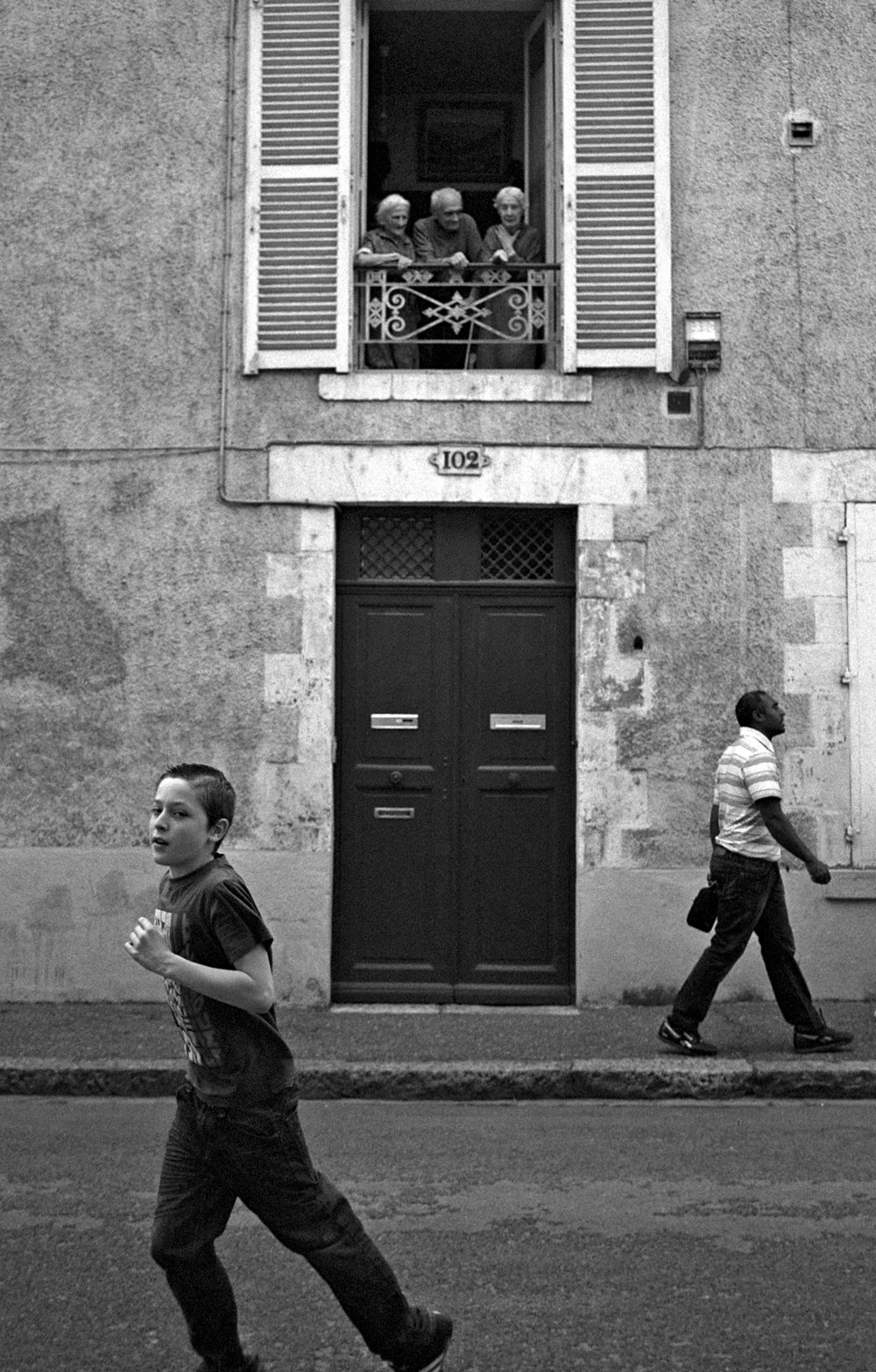 """Sunday morning, rue St Marceau, Orléans"" by Nicolas Guillén"