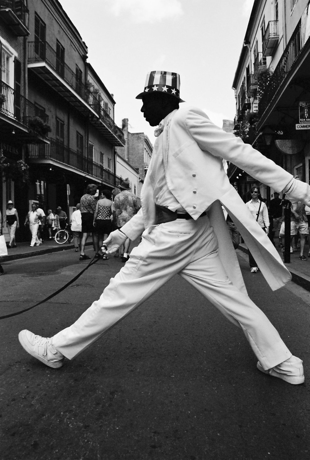 """""""Street Performer, New Orleans"""" by Peppa Martin"""