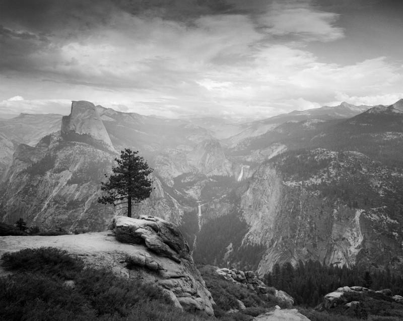 """Half Dome and Little Yosemite from Washburn Point"" © Alan Ross"
