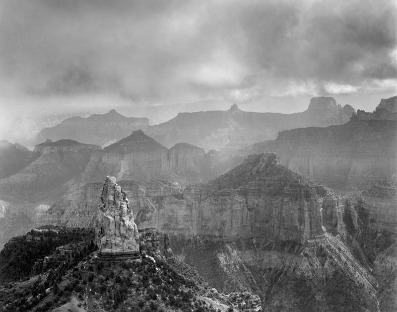"""Afternoon Storm, Grand Canyon"" © Alan Ross"