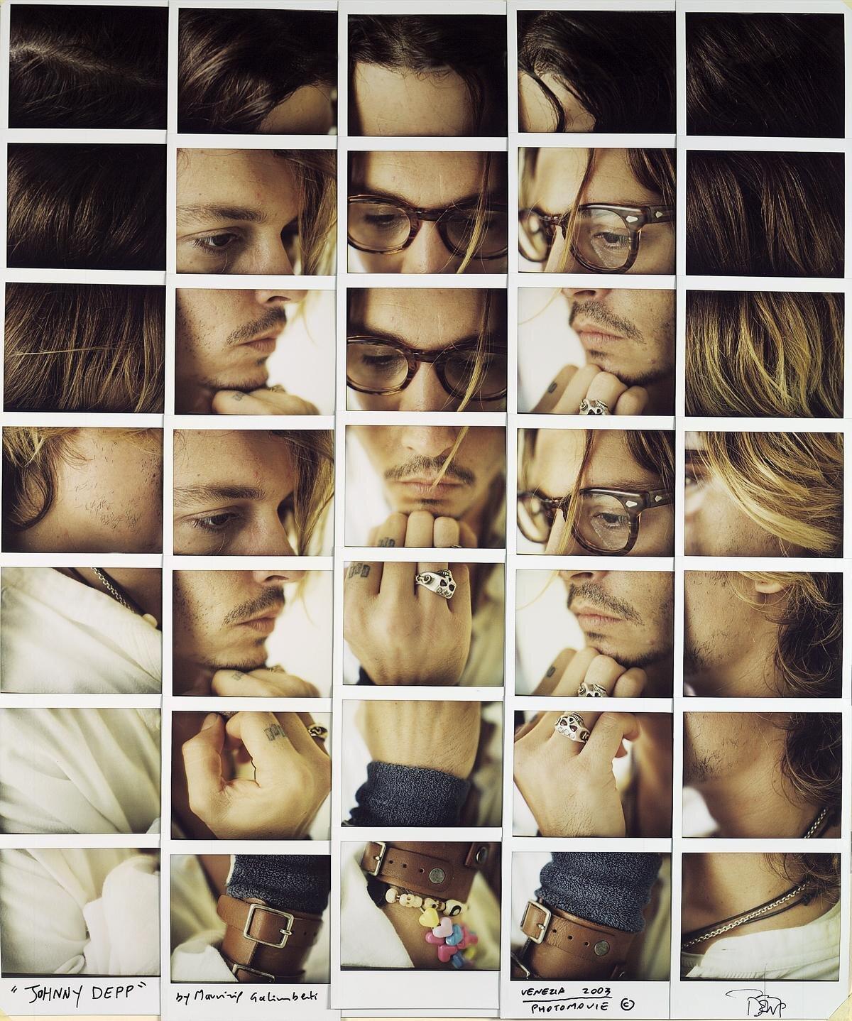 Intervista: Maurizio Galimberti – Celebrity Instant Film Collages