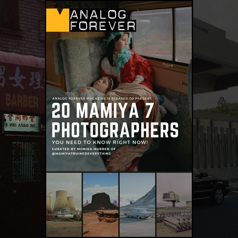 20 fotografi di Mamiya 7 che devi conoscere!