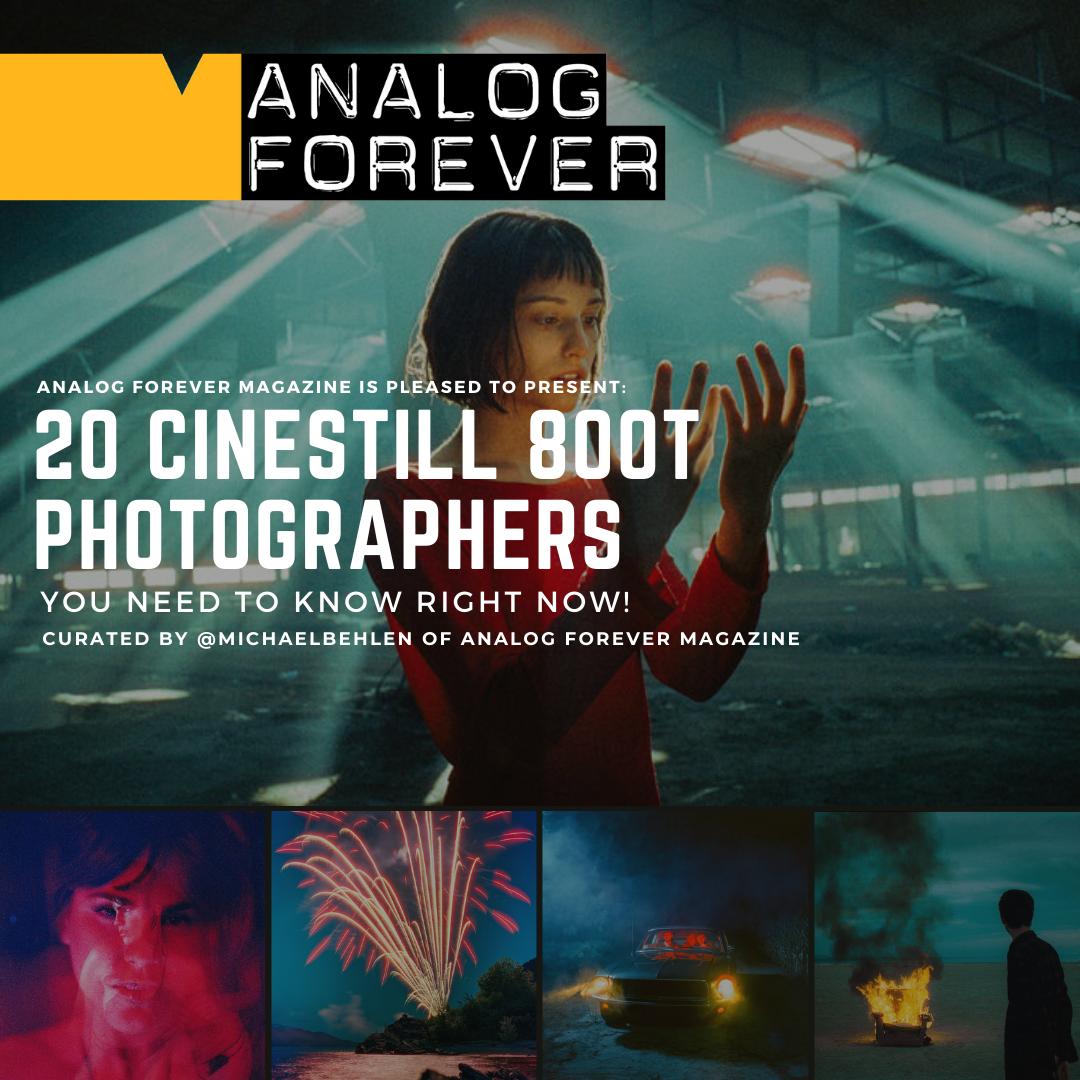 20 fotografi CineStill che devi conoscere!