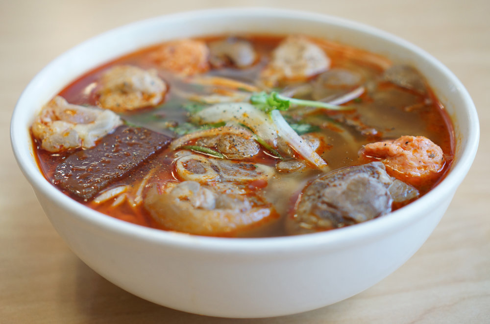 Bún Tầm Hoài Huế - The largest option of Bún Bò Huế. So big we gave its own name