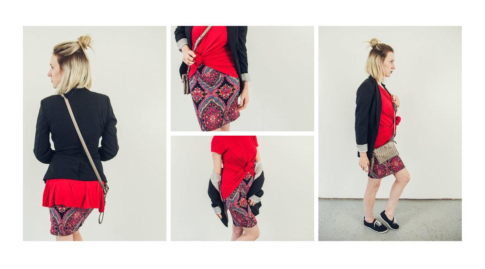 Paisley Raye Pencil Skirt Styling
