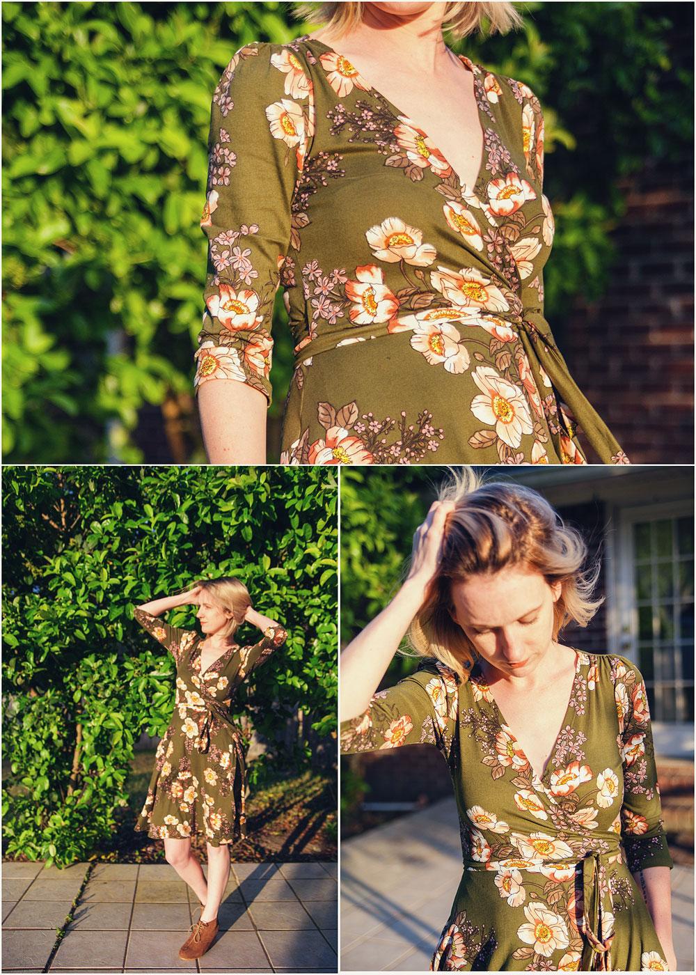 Paisley Raye Petunia Wrap Dress