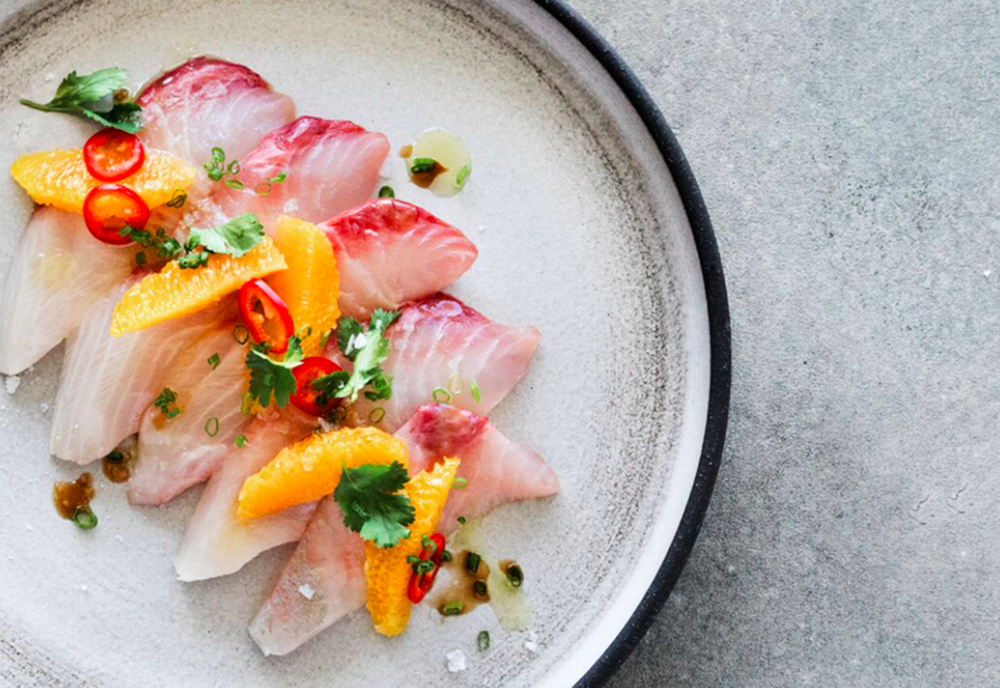 our menu - Responsibly sourced seafood with local farmer's market ingredients along side biodynamic wines and handcrafted cocktails.