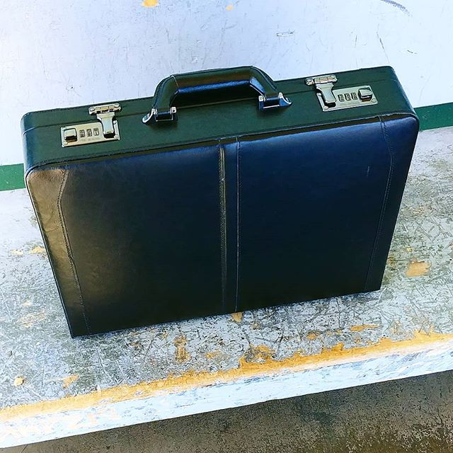 What is a business man without a briefcase??