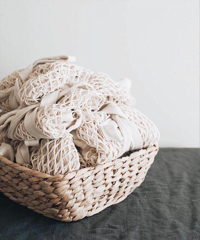 A basketful of cotton ☁️ #basket #cotton #bag #bags #lifestylephotography #lifestyleblog #lifestyleblogger #shop #lifestyle #melbournelife #ecofriendly #product #simple #minimal #minimalism #minimalist #plasticfree #natural #eco