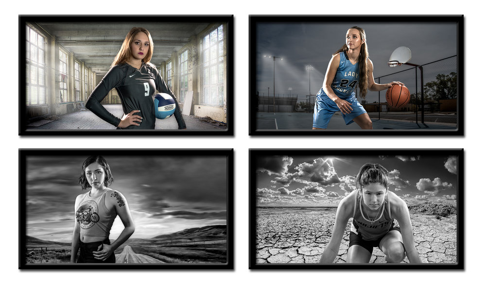 HDR portraits are never impacted by bad weather or gray skies. With a wide and diverse library of HDR backgrounds, great photos are never far away.