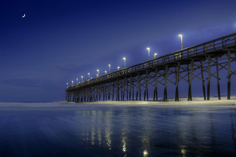 The Pier at Ocean Isle Beach, North Carolina.