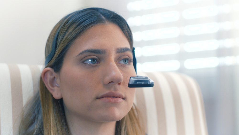 A True Bi-directional                    Communication Device - Clear vision – the device does not obstruct the view so you can maintain eye contact while communicating.