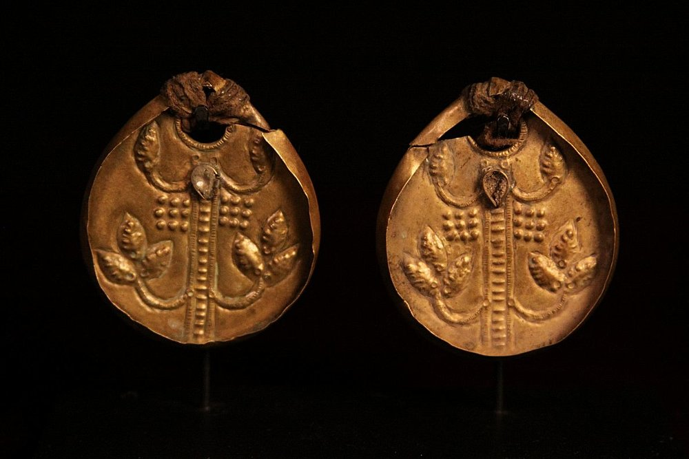 20th Century Copper Gurung Earrings . Nepal.jpg