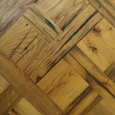 Reclaimed French Oak Panels   The history of each piece of wood is visible through its patina the hallmarks of time that give the wood depth and tell the story of its provenance. All our panels are hand made using the traditional French method.