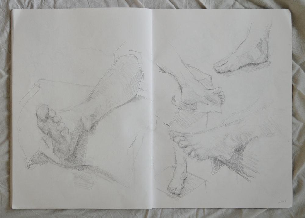 Sketchbook Anatomie