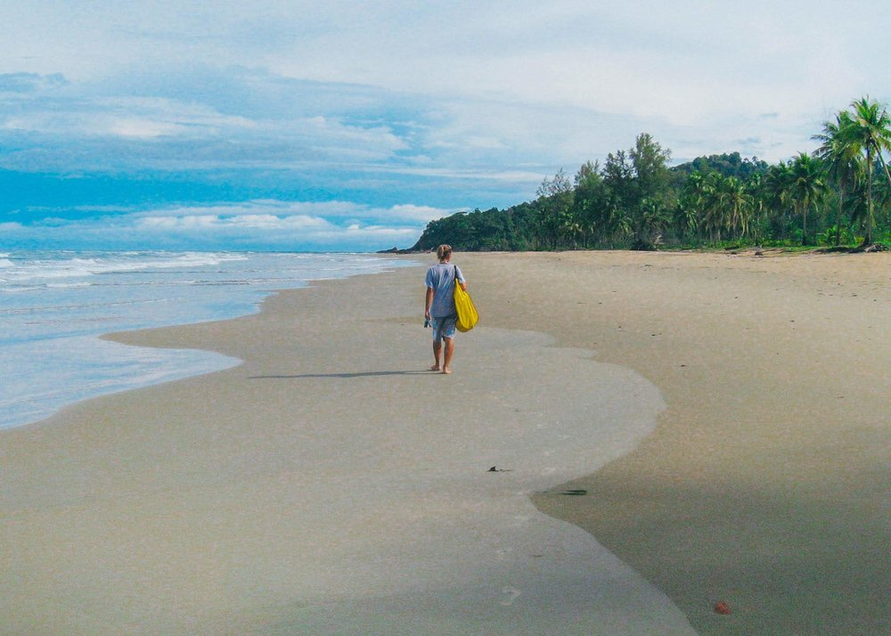 Ekomatkaajien tarina alkoi Thaimaasta, Phra Thongin saarelta