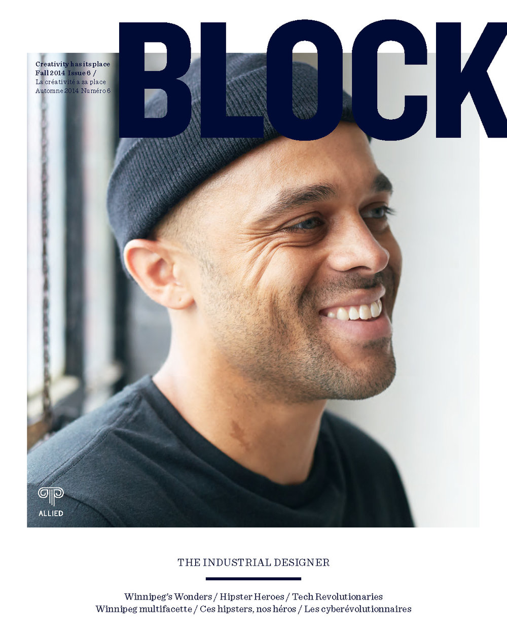 BLOCK : Editor of art and design quarterly produced by Whitman Emorson for Allied Properties