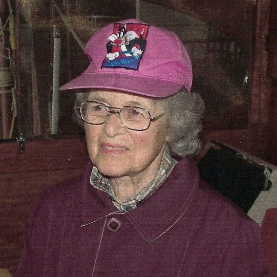 "Elizabeth ""Betty"" Jane McWilliam Harris, Dale's Mother."