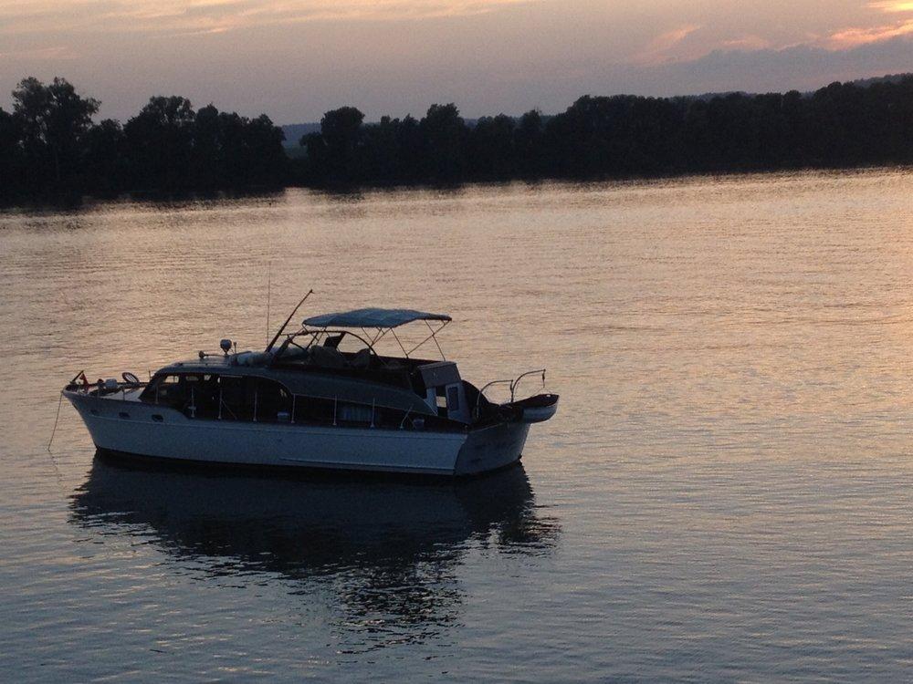 Betty Jane  on the Ohio River above Markland Dam, Warsaw, Kentucky.