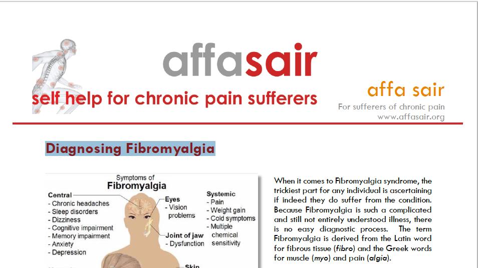 Diagnosing Fibromyalgia
