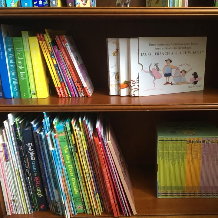 Client SR ~ Children's bookshelf