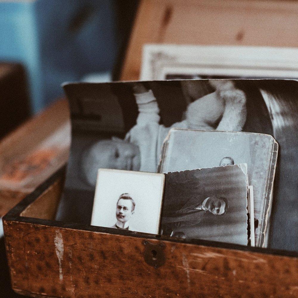 Old photographs ~ Unsplash