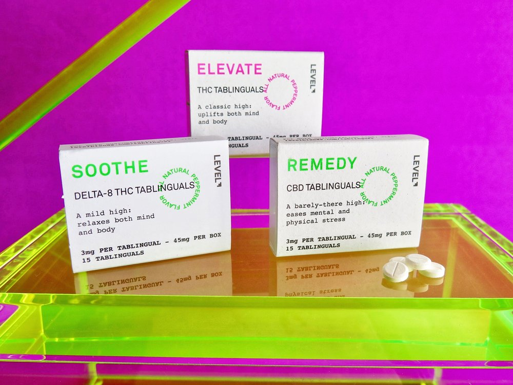 Micro-dosed tablets by Level