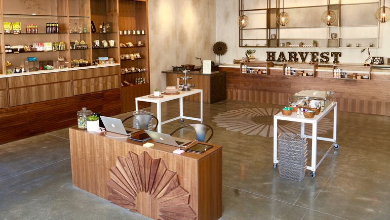 Harvest Off Mission, a cannabis dispensary in San Francisco.