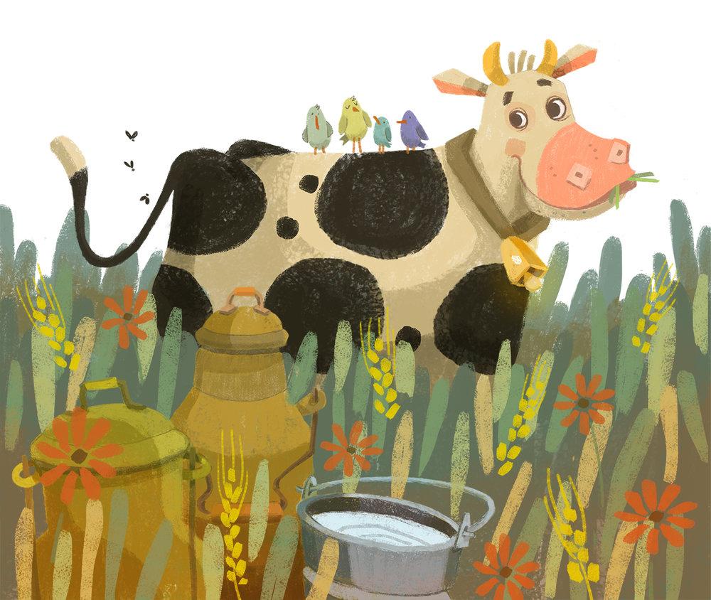 El  búho Jacinto en la granja, Èlia Meraki