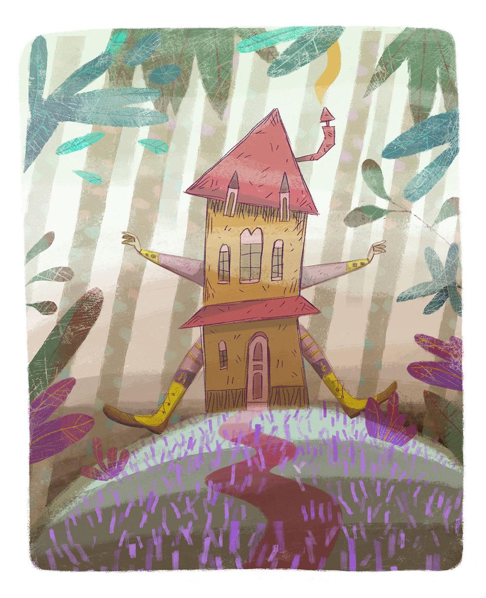 Alice in Wonderland, Èlia Meraki