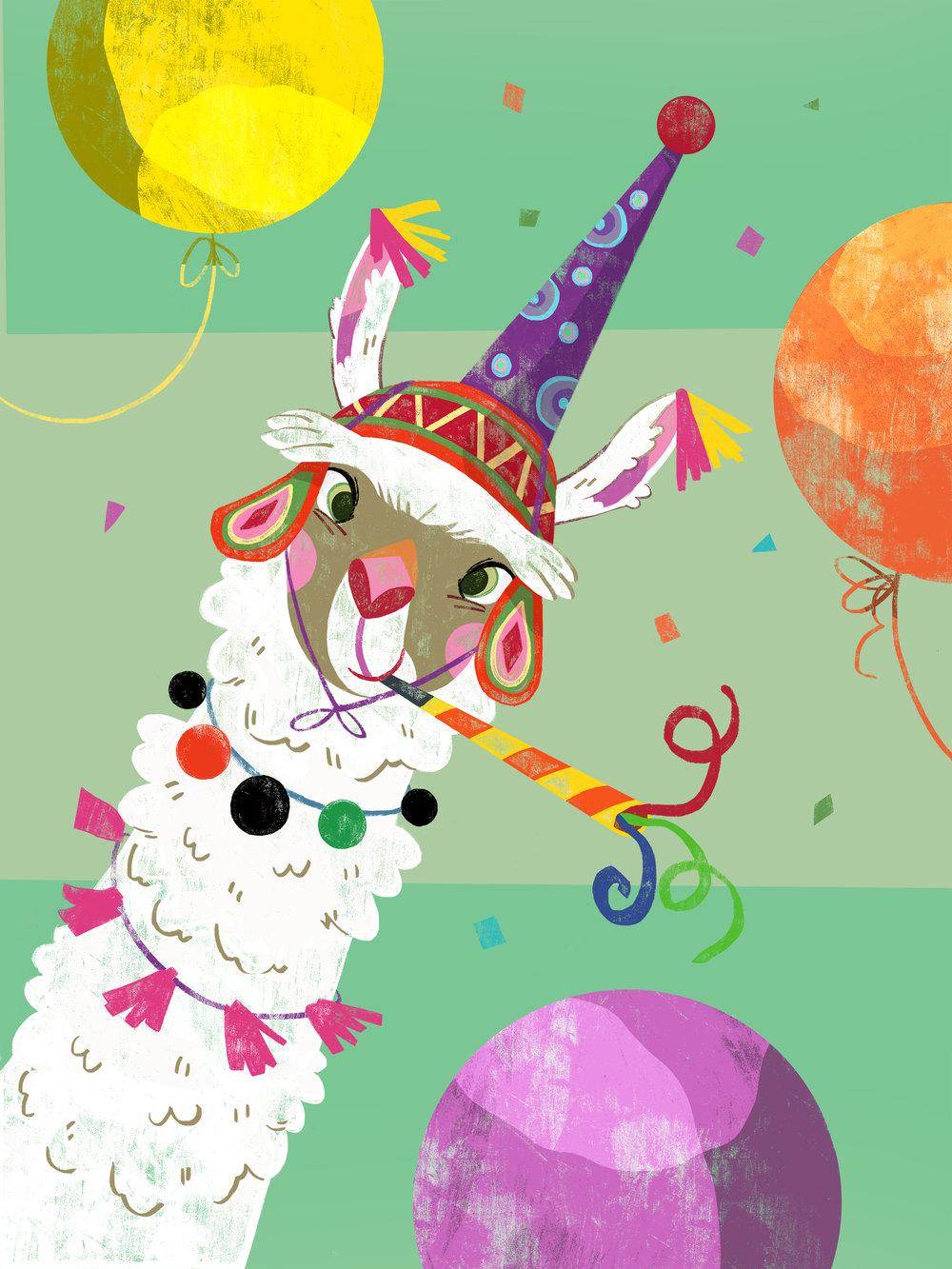 Llama_Party
