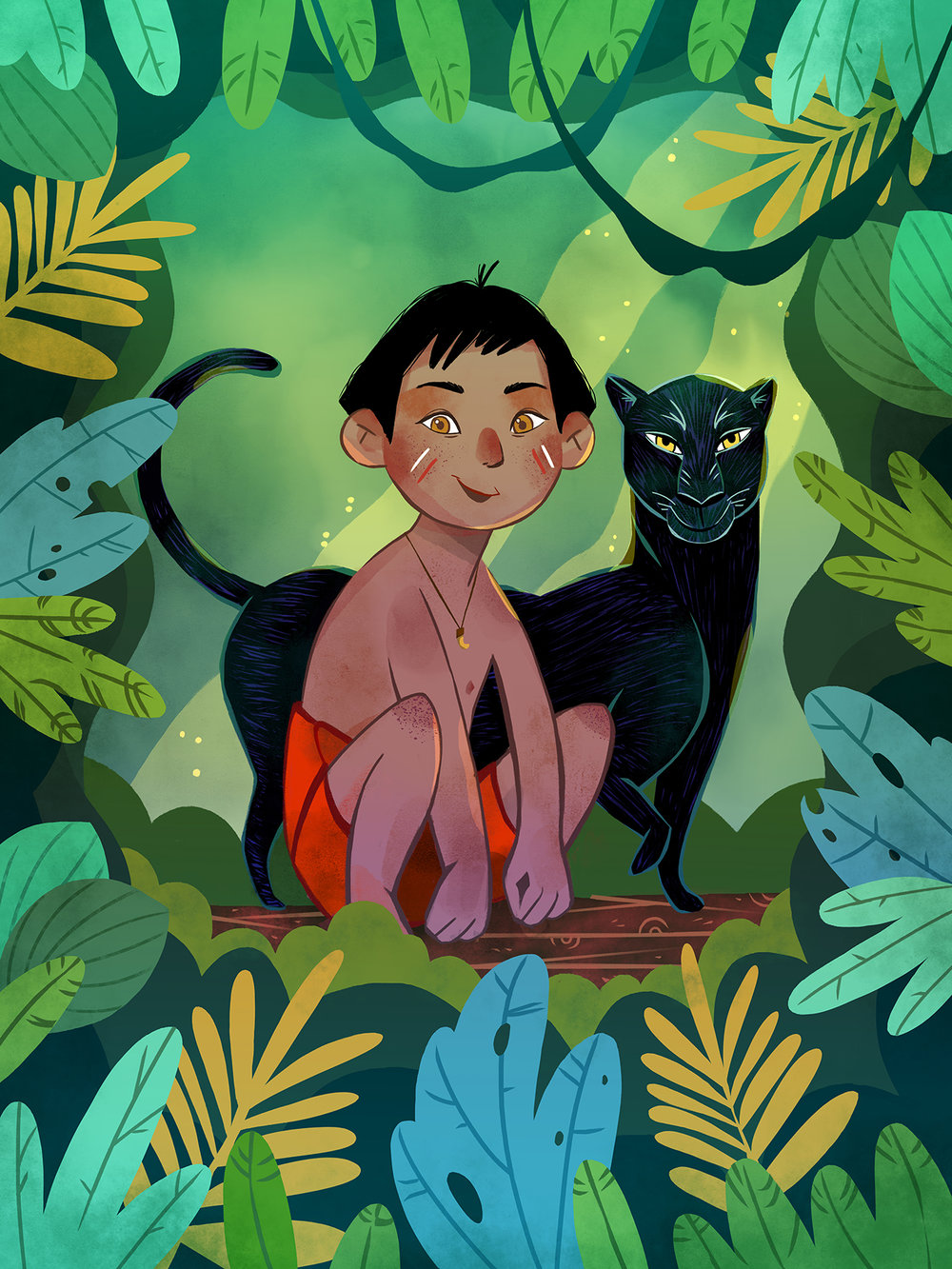 Mowgli by Èlia Meraki ©