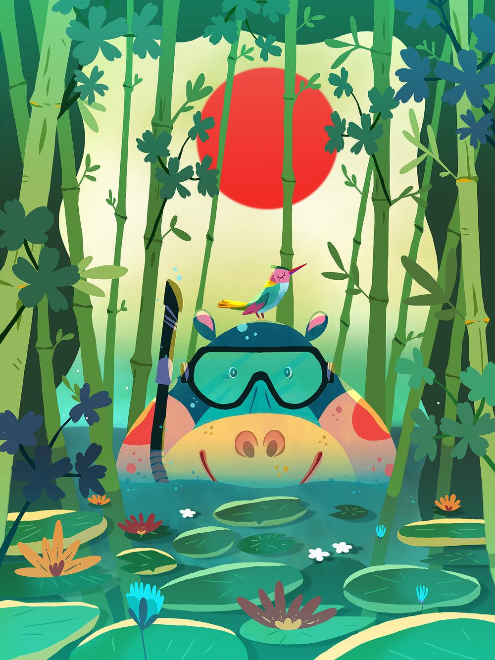 Hypopotam by Èlia Meraki
