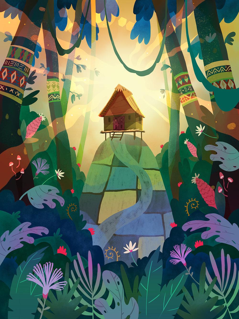 Sweet Home in Jungle by Èlia Meraki  ©