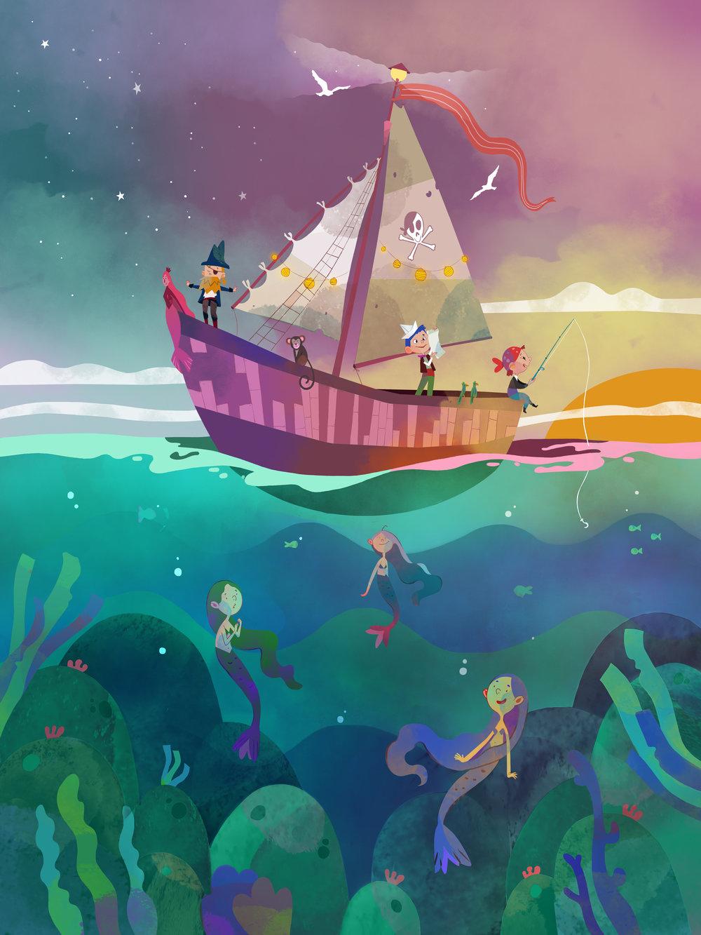 Mermaids  by Èlia Meraki ©