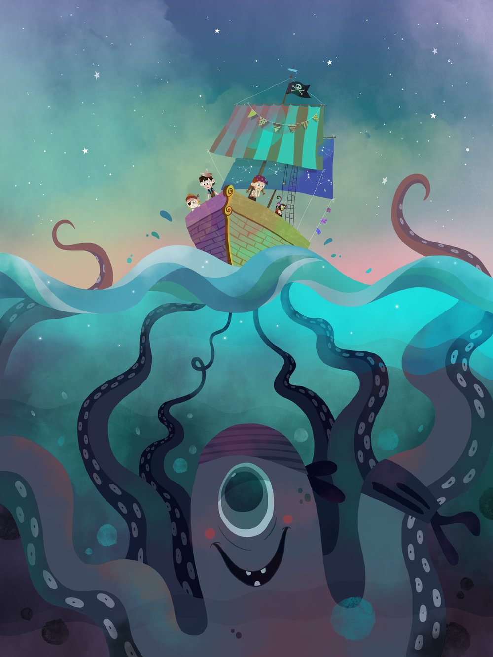 Octopus by Èlia Meraki ©