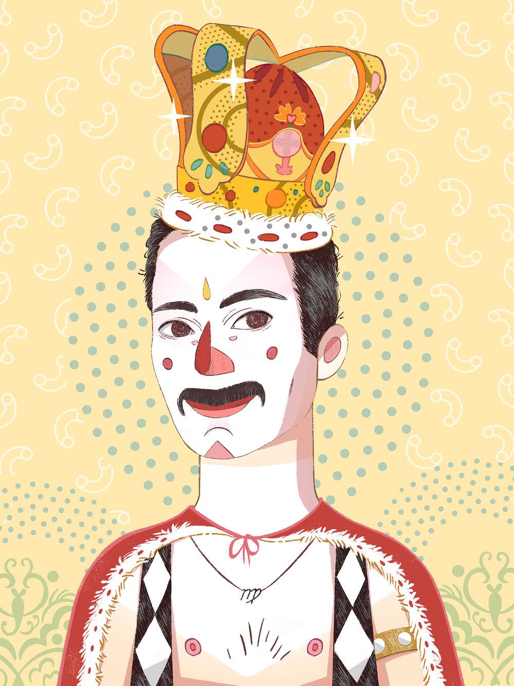 Freddie Mercury by Èlia Meraki