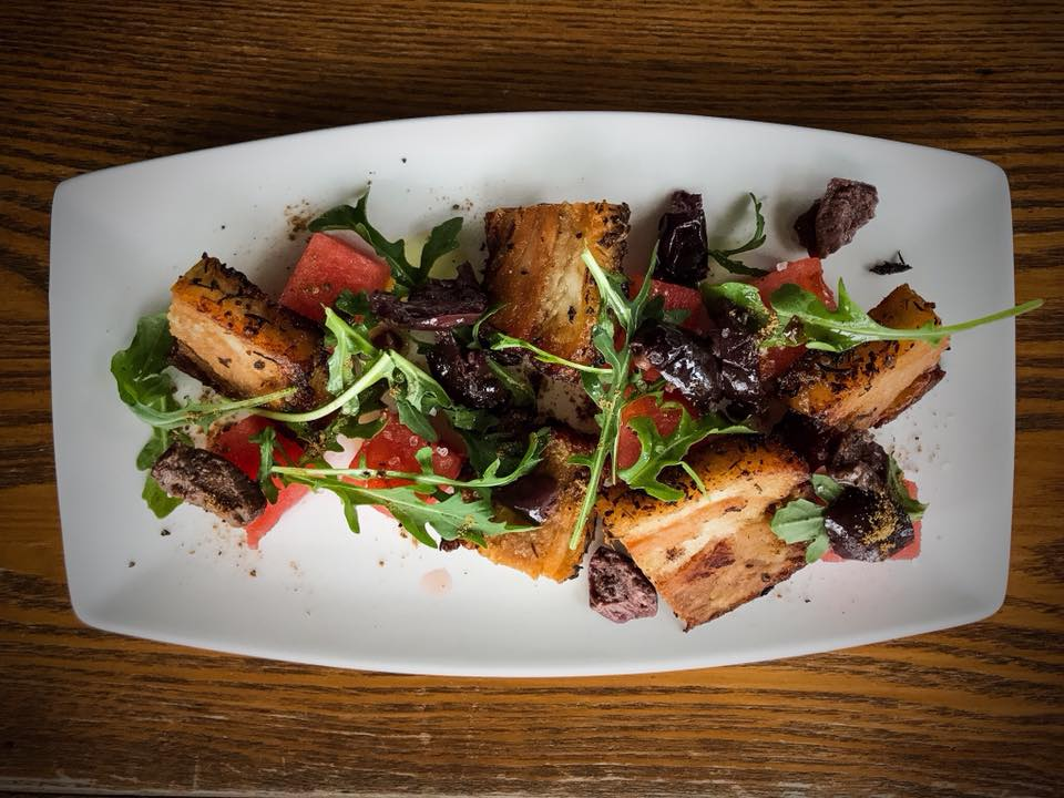 Crispy Pork Belly Salad