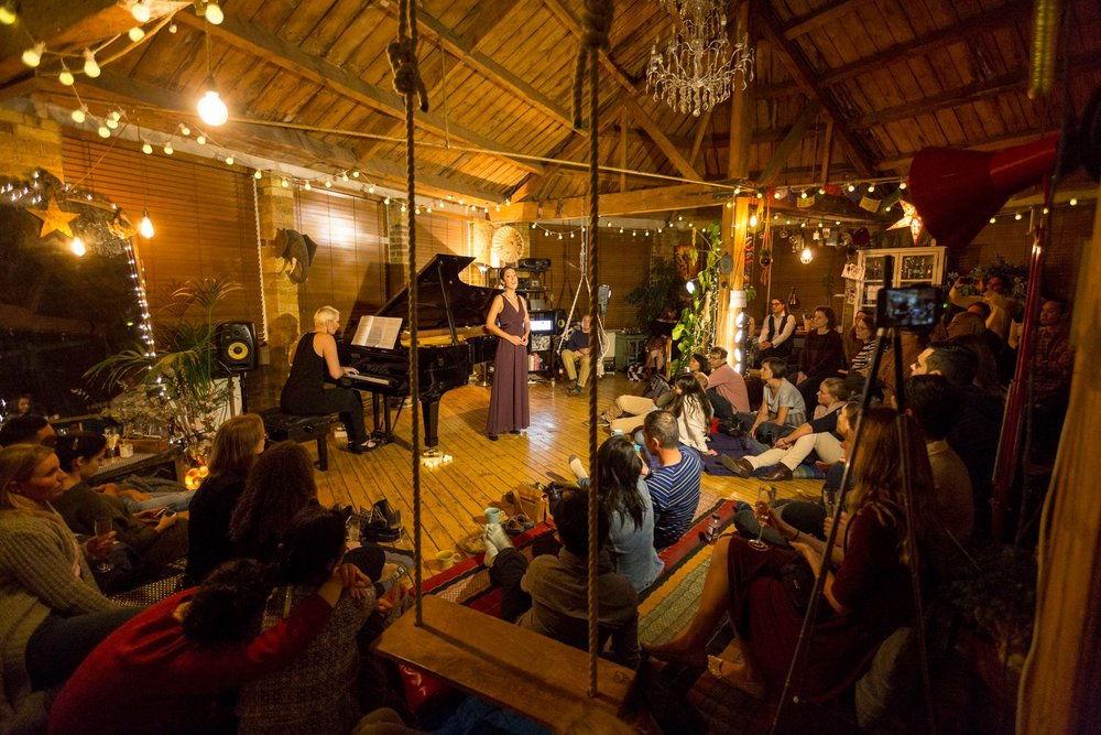 DEBUT at the Shoreditch Treehouse | Airbnb Experience Classical Concert Series