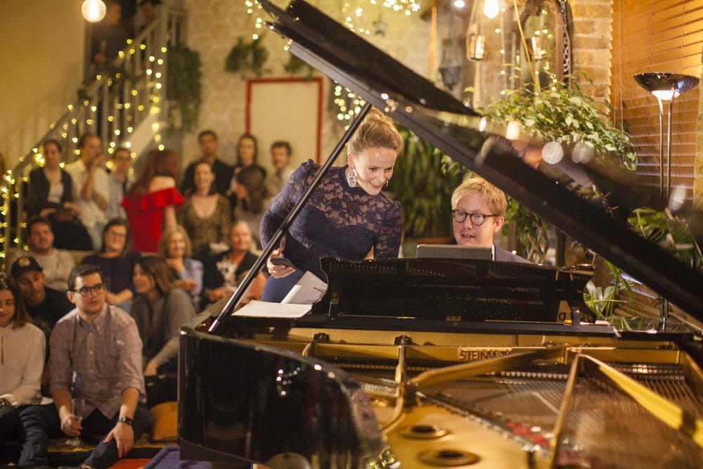 Lizzie Holmes, soprano & host