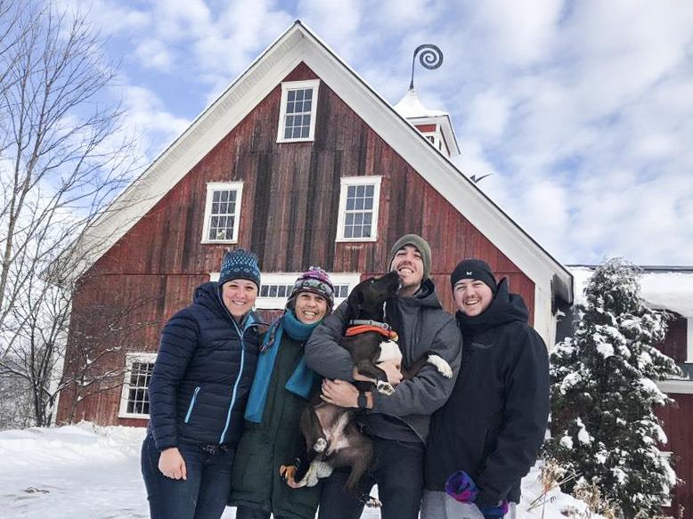 The Ranz Family, left to right- Naomi, Jennifer, Ellie, Ezra, and Elias