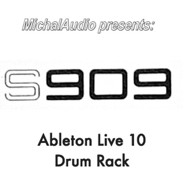 FOLLOW INSTRUCTIONS FOR FREE PROMO CODE  The Roland TR-909 and the Akai S950 are legendary instruments in the history of electronic music and need no introduction. The S909 Ableton Live Drum Rack is the offspring of these two icons.  The aim of this instrument is to provide easy access to the sonic imprint of the S950 sampler on the iconic Roland drum machine. The controls allow you to dial in different sampling frequencies (bandwidth), input levels (saturation) and pitch changes at the flick of a switch.  Each combination of the bandwidth, saturation and pitch controls selects a different sample, rather than applying any virtual effects. The 909's instruments were each sampled (from the original hardware) directly by the S950 at different bandwidth and input levels and then recorded at different pitches. This resulted in over 2300 individual samples. These were then mapped in an Ableton Drum Rack for easy access to parameters in the DAW or via a Push 2 controller.