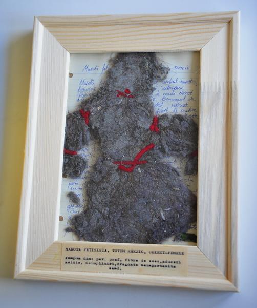 Compressed mnestic totem - Woman / Marota fetisista, totem mnestic, obiect-femeie