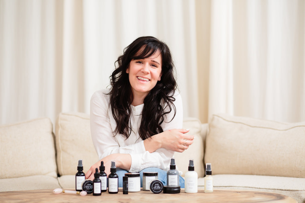 Hello, I'm Aubrey and I'm so happy our paths have crossed! I'm a mom, chef instructor, and natural skin care fanatic! As a chef instructor, everyday I teach about the importance of what goes into our bodies. However, one day I realized that I was not being equally as mindful about what I put on my body. Once I began researching what was in my favorite skin care and cosmetic products I was mortified, and knew it was time for a change. I transferred my culinary skills to skin care production, and began producing natural products for myself and my family. After many years of research and development I am now pleased to introduce my tried and true products to you all. With my ever-talented sister at the helm of product design I am so proud to present a beautiful product with the best ingredients for your skin from nature. I trust you will love these products as much as we do!